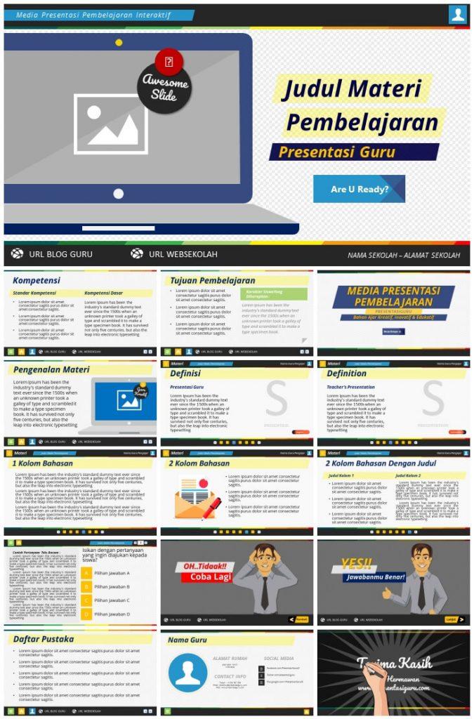 Presentasi Guru - Media Presentasi Pembelajaran #v01