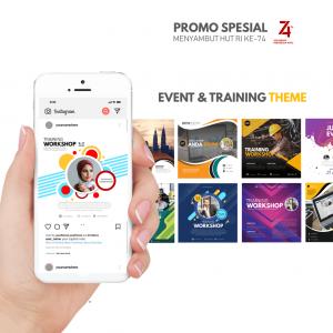 PPTBIZ - Template Promosi Event & Training