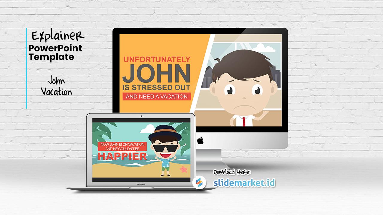 SlideMarket.ID - Video Explainer Slide Template - Marketplace PowerPoint